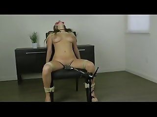 Chair Tied Orgasm