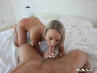Step mom catches friend's daughter fucking