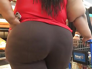 Huge Wobbly BBW Ass