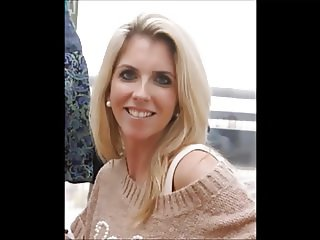 Horny Blonde MILF BEFORE and AFTER