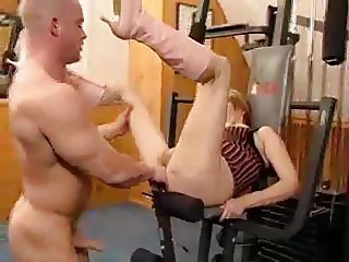 Granny in the Gym