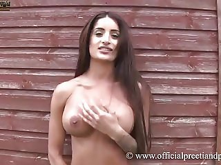 Indian Twin Preeti Young Bikini Strip Masturbation.