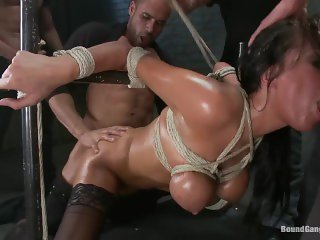 Bound Gang Bang Anissa