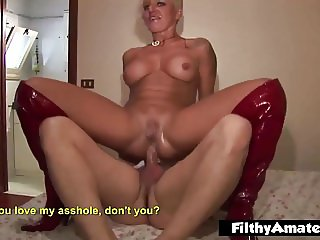 Nasty Cougars loves ass fucking and Double Penetration!