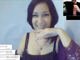 ChatRoulette - Russian Girls Big Cock Reactions 10