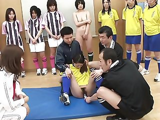 STP7 Japanese Teens Football Training Part 2 !