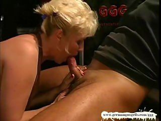 Busty Mature babe fucked side by side with her younger friends