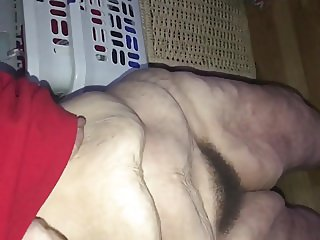Doing Housework Bottomless and Hairy