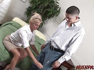 Hot teacher down to fuck student picked up on streets