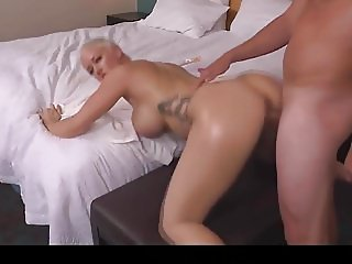 Hot cougar taking in the ass - Pov