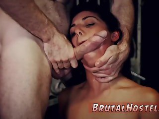 Massive brutal anal dildo nothing comes for