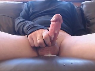 My solo 80 (Spurting ejaculation from very horny stiff cock)