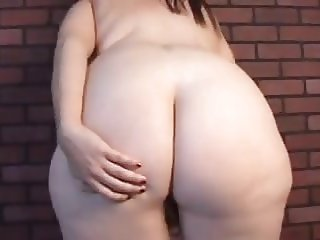 Super sexy busty BBW thinks of you fucking her juicy pussy