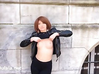 LadyOulala Flashing in Public