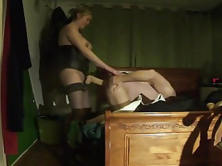 strap-on and fisted by slutwife