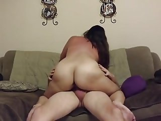 Chubby mature sucks and rough riding hardcore