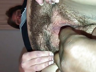 Big Momma's Hairy Wet Pussy