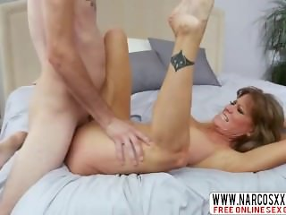 Not Skinny Mommy Darla Crane Likes Hard-Core Cock