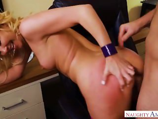Aaliyah Love Gets Office Worker's Cock