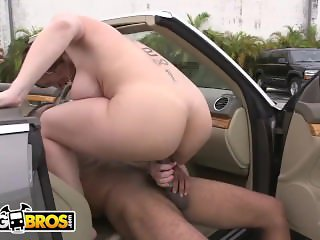 BANGBROS - Big Ass MILF Sara Jay Takes On a Big Black Cock