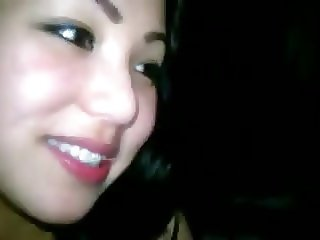 Young Indonesian lady blowjob
