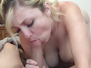 the blonde woman with big tits is forcibly seducing the youn