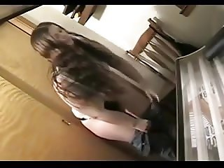 Tanning room spycam - pussy view.flv
