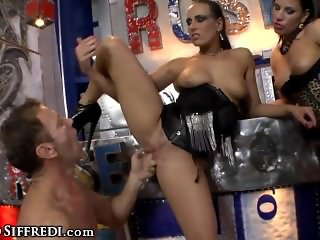 Rocco Siffredi's Big Cock for 2 Greedy Assholes