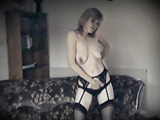 FEELS LIKE HEAVEN - vintage British saggy tits striptease