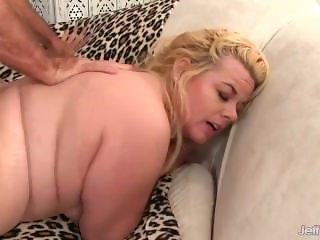 Fat Floozy Is Poked by a Thick Cock