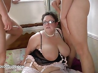 Granny enjoys using two studs