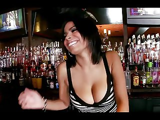 Busty Barman With Large Nipples