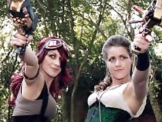 Steampunk Babes Music Video