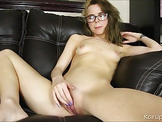 Solo Girl Alina West Finger Pussy