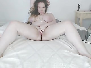 chubby busty russian cam-slut