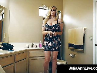 The Hottest Milf In Porn Julia Ann Bangs A Total Porn Newbie