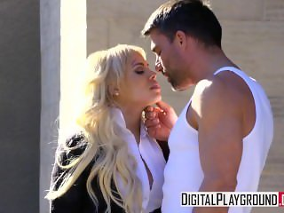 BloodSisters 2- Luna Star  Deepthroats some big cock