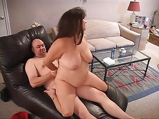Huge Tit Mature Housewife Gets Butt Fucked