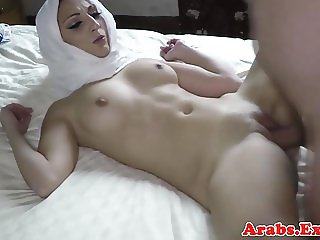 Cocksucking arab babe fucking and jerking
