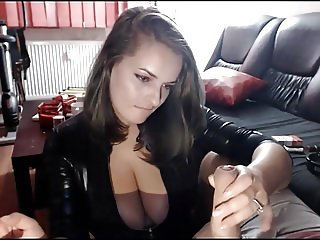 Delicious Woman smoking and BJ