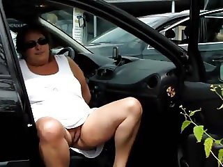 Car park upskirt play