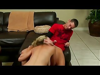 Blonde Hot Mom Likes Dick