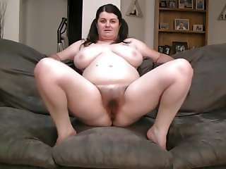 chubby big tits spreading ass and pussy