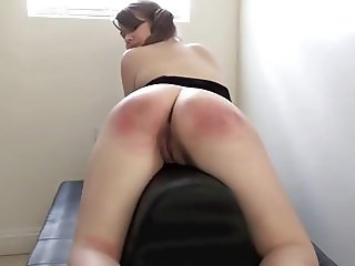 Whipped Hard!(Teen slave ass gets harsh whipping)