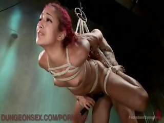 Fucked And Bound In The Dungeon