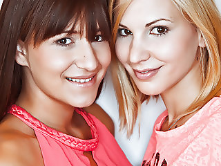 Hungarian girlfriends having fun - Candy Sweet, Cindy Loarn