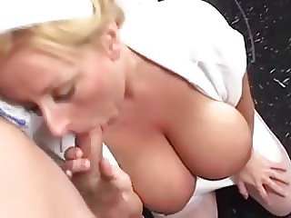 Monster Saggy Tits Nurse Fucked In Stockings