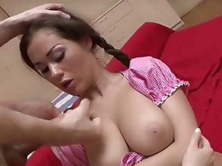 Nice Tits Quickie And Cumshot