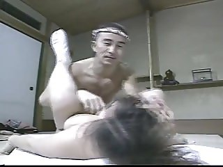 SB2 Japanese Dad Comes Home Desperate To Fuck !