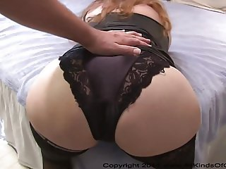Bubble Butt Granny Got Butt Fucked